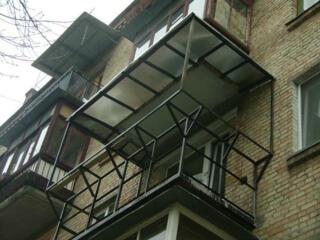 Бельцы. Замена перил! Козырьки бельевые кронштейны утепление балконов!