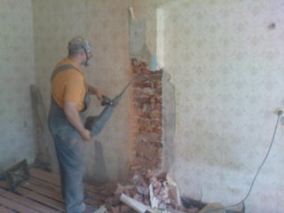 Бельцы, демонтажные работы любой сложности бетоновырубка резка бетона.