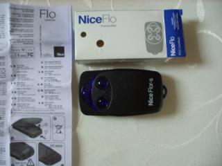 Брелок для ворот Nice Flor-S2 плавающий код 433.92 МГц оригинал