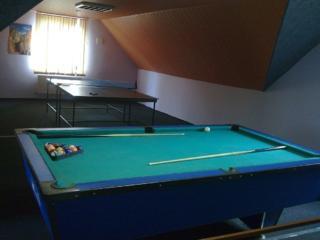 Акция бильярд, настольный теннис бассейн с джакузи. Сауна дрова