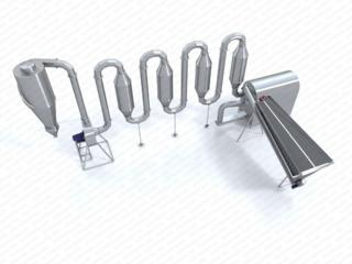 Сушилка аэродинамическая для опилки, лузги, соломы