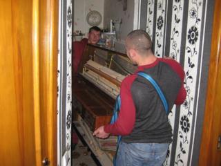 Переезд. Мебель, пианино, котлы, сейфы.