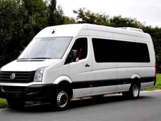 Transport Romania: autobus – 18 locuri, microbus – 8 locuri, auto 4loc