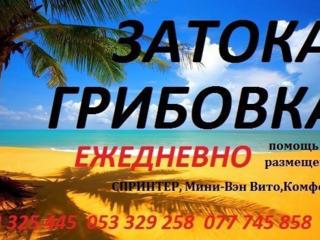 Информация о поездках Затока Грибовка Ильичевск Курортное