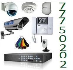 IP-видеонаблюдение и аналоговое, СКУД, сигнализация, домофоны.