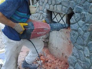 Прокат отбойники перфораторы! Услуги бетоновырубка! Резка бетона стен!