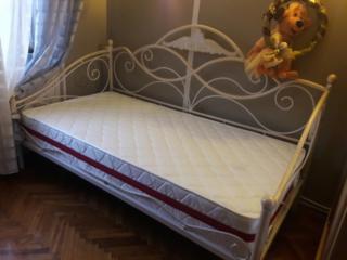 Кованные кровати в наличии и на заказ + ортопедические матрасы. Скидки