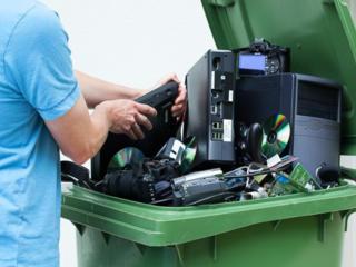 Оказание услуг по утилизации оргтехники и электронной техники.