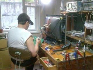 Оперативный ремонт телевизоров без выходных. Выезд к заказчику на дом