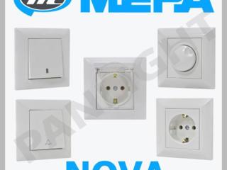 Prize si intrerupatoare, pentru oficiu si Casa, Fise, Mepa, Makel, LED