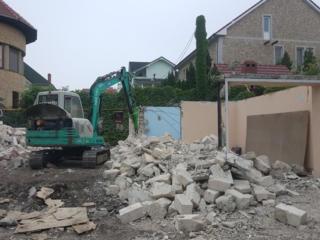 Demolarea betonului, fundamentelor, cladirilor...