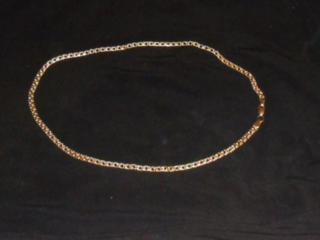 Золотая цепь 585 проба.. 20 гр. Длина 55 см.