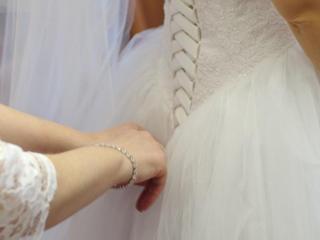 Свадебное платье, копия модели Vera Wang