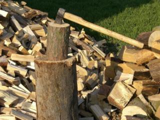Taierea lemnelor. Despicam. Punem la loc.