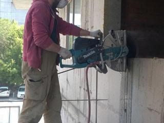 Бельцы. Алмазная резка бетона стен перегородок перепланировка квартир