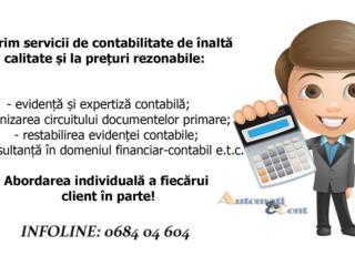 Servicii contabile: restabilire, evidenta, consultanta 1C