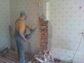Бетоновырубка разрушение бетона алмазное резка бетона стен асфальта!!!