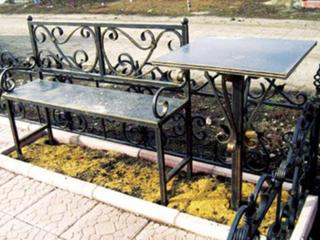 Ритуальные оградки, кресты, столики, скамейки