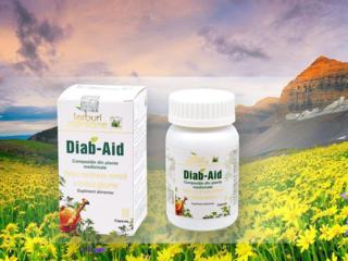 Диаб-Эйд - травяной регулятор уровня сахара в крови