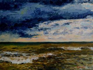 """Продаётся картина Климова О. В. """"Море, этюд"""""""