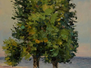 "Продаётся картина Климова О. В. ""Осенний пляж"""