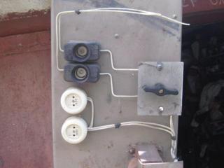 Кабель, провода, трансформаторы тока, Щиток гаражный, Реле освещения