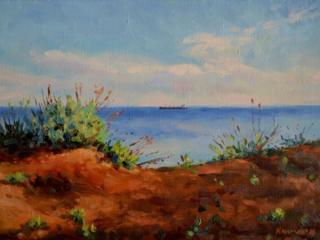 "Продаётся картина Климова О. В. ""Чёрное море"""