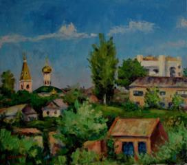 """Продаётся картина Климова О. В. """" Очаков"""""""