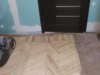 Шліфовка паркету - реставрация підлоги. Шліфування та цикльовка підлог