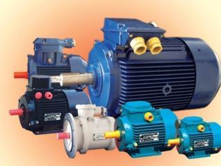 Куплю Электродвигатели 1,1-7,5 Квт Автоматы40-100А. Редукторы.