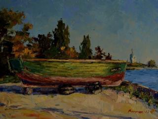 """Продаётся картина Климова О. В. """" Осень в Очакове """""""