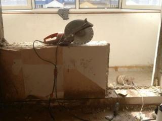 Бельцы резка Расширение дверных оконных проемов усиление бетоновырубка