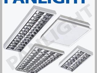 Растровые светильники, офисные светильники, PANLIGHT, светильники LED