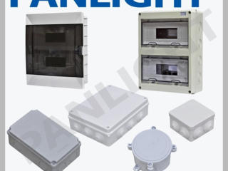 Распределительные щитки и шкафы, боксы под автоматы, PANLIGHT, MAKEL