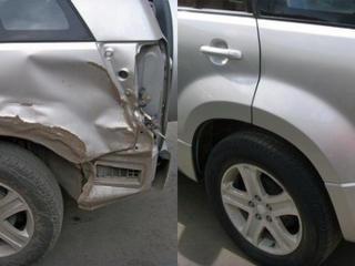 Рихтовка кузова автомобиля в Кишиневе (Молдове)