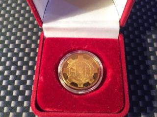 Продам золотую монету СЗАО ММЗ