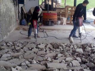 Бельцы монтаж демонтаж бетонных полов! Стяжки бетоновырубка сверление!