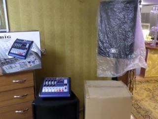 Комплект звуковой аппаратуры (всё новое, в упаковке)