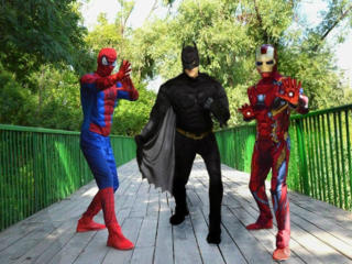 Spiderman, IronMan, Hulk, Batman, Turtle Ninja, KungFu Panda
