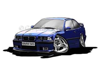 BMW E34, E36, E39.