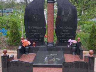 Памятники - гранит, крошка, ж/бетон (КРЕДИТ, РАССРОЧКА - 0 %)