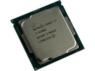 CPU Intel i7-8700K / S1151 / 12Mb / 14nm / 95W / Intel UHD Graphics 63