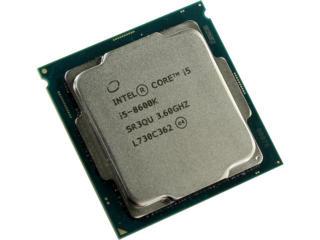 CPU Intel i5-8600K / S1151 / 14nm / 9MB Cache / Unlocked / Six Cores /