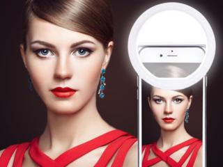 Ring Light Selfie Кольцо для качественных фото, теперь на аккумуляторе
