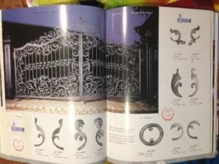 Книги по изготовлению кованых изделий из металла. Италия, Франция, Рос