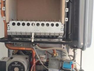 Обслуживание и ремонт газовых котлов! Чистка от накипи!