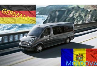 Germania-Moldova-Germania zilnic transport pasageri tur-retur 24/7