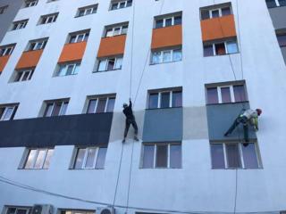 Echipă de alpiniști! Lucrări la înălțime!
