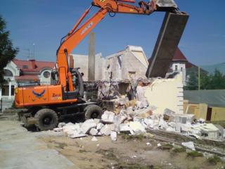 Бельцы! снос демонтаж перепланировка домов строений сооружений зданий!