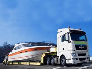 Трал для перевозки негабаритных грузов д 13х ш 3х в 0,8м 25 т